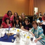 With my fabulous breakfast table, Romcon 2013, when both ALMOST A SCANDAL and A BREATH OF SCANDAL were nominated for the Reader's Crown. Colorado Springs, June, 2013..