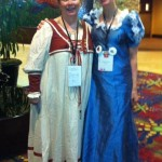 With fabulous medieval paranormal author, and keynote speaker Melissa Mayhew, RomCon2013. COlorado Springs, June 2013.