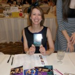 Signing at Dreamin' in Dallas, April 2013.