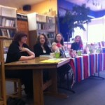 Dropping in on a great signing in Ablquerque, NM, with Darlynda Jones & Celeste Bradley, March 2013.