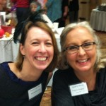 With brilliant YA author Stephanie Trinity Faegan, Dreamin' in Dallas, April 2013.