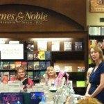 Booksigning at B&N Creekside with Sarah MacLean, Sheerilyn Kenyon, October 2012.
