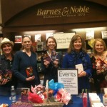 Signing at B&N Creekside with Angi Morgan, Kat Cantrell, EE, Diane Kelly and Kelly Lee. February 2013.